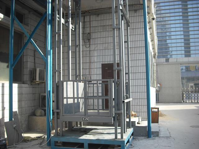 cad壁挂式升降机设计图纸_升降机_升降平台_升降台_货